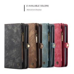 Image 5 - Para samsung galaxy a20 a30 a50 caso luxo genuíno flip carteira capa de couro caso de volta do telefone móvel para samsung a40 a70 a50