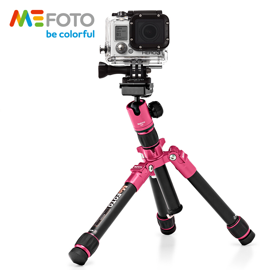 MeFOTO A0320Q00 Aluminiu colorat portabil Super Light Mini Tripod - Camera și fotografia