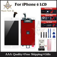 100 Original LCD Touch Screen Glass Digitizer Display Assembly For IPhone 4 4G Black