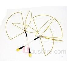 1 2G 1 2GHz Clover Leaf Antenna Circular Polarized SMA male for 1 2Ghz 1 3Ghz