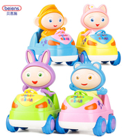 4pcs Waybuloo Cartoon Children Pull Back Car ABS High Quality Ruggedness For Kids Christmas Gift Cute
