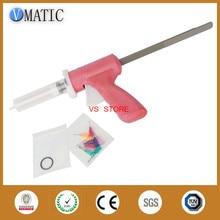 Free Shipping Quality 30ml 30cc Manual Caulking Gun With Syringe & Needles