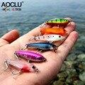 AOCLU wobblers Super calidad 11 colores 38mm cebo duro Minnow manivela Popper Stik pesca señuelos bajo agua salada fresca 14 # VMC ganchos