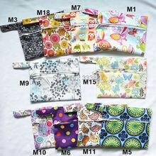 [Sigzagor] 1 маленькая мокрая сумка многоразовая для Mama тканевая гигиеническая менструальная Подушка для беременных, тампон, чашка нагрудник, покупатель выбирает, 35 дизайнов