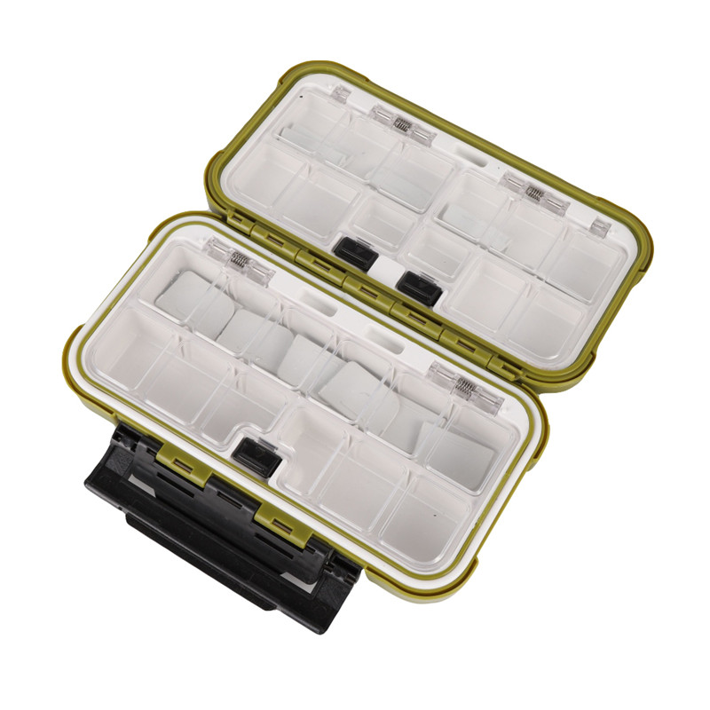 Image 3 - 20CM Fishing Tackle Box Multiple Compartments Double Sided Fish Lure Bait Line Hooks Holder Container Fishing Accessories Box h-in Fishing Tackle Boxes from Sports & Entertainment