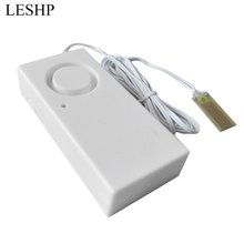 LESHP Water Leakage Alarm Detector 130dB Water Alarm Leak Sensor Detection Flood Alert Overflow Home Security Alarm System стоимость