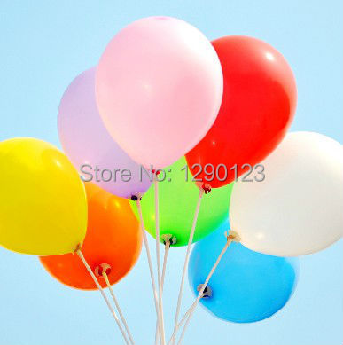 HOT SALE 500pcs/lot 10inch 1.2g/pcs Latex Helium Thickening Pearl Wedding Party
