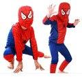 Spider-Man Superman Batman Cosplay Costume Party Suit Clothes Kids Childern