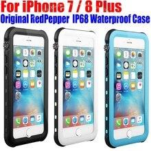 Для iPhone 7 Plus чехол оригинальный Redpepper Dot серии IP68 Водонепроницаемый Дайвинг Подводные PC + TPU Панцири чехол для Iphone 7 IP712