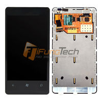 For NOKIA Lumia 800 800 480 Smart Phone LCD Display Touch Screen Digitizer Glass Lens Sensor