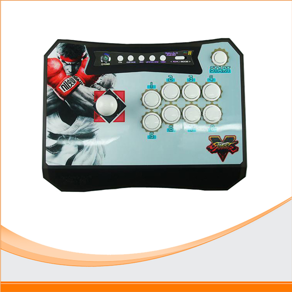 Kit Arcade Controller 2 Players Fighting Game Stick Built in Pandora Box 4S PS3 XBOX360 PC Pandora's Box Wireless Arcade Stick