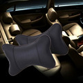 High Quality Perforating Design Danny leather Hole-digging Car Headrest Supplies Neck Auto Safety