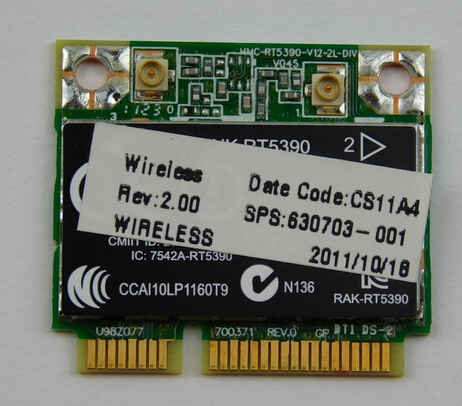 USB 2.0 Wireless WiFi Lan Card for HP-Compaq Pavilion A6630sc
