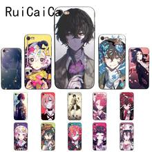 Ruicaica Japan anime bungou stray dogs Dazai Osamu Coque Shell Phone Case for iPhone 8 7 6 6S 6Plus X XS MAX 5 5S SE XR 10 Cover(China)