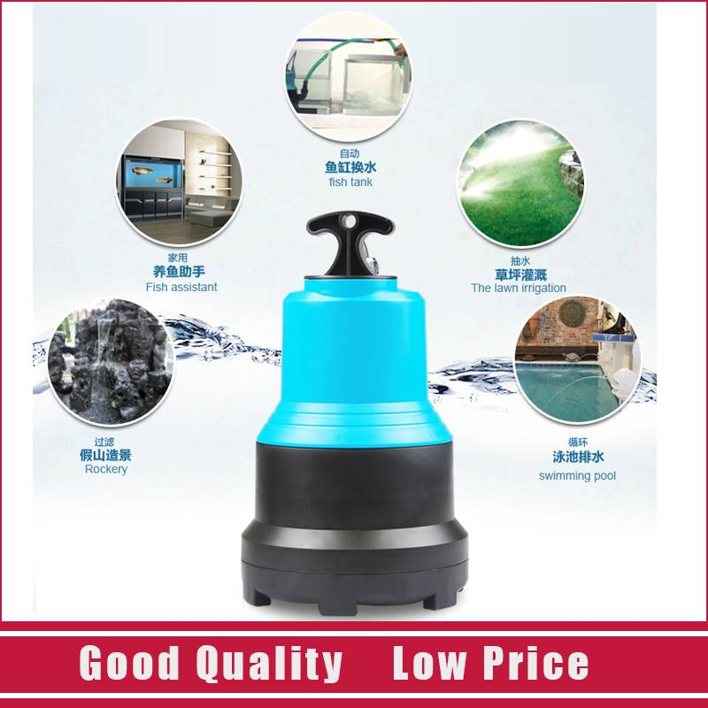 CLB-4500 Pond Garden Water Pump 220V Submersible Pump clb 4500 high quality plastic filter pump fish pond circulating water pump 220v electric submersible pump