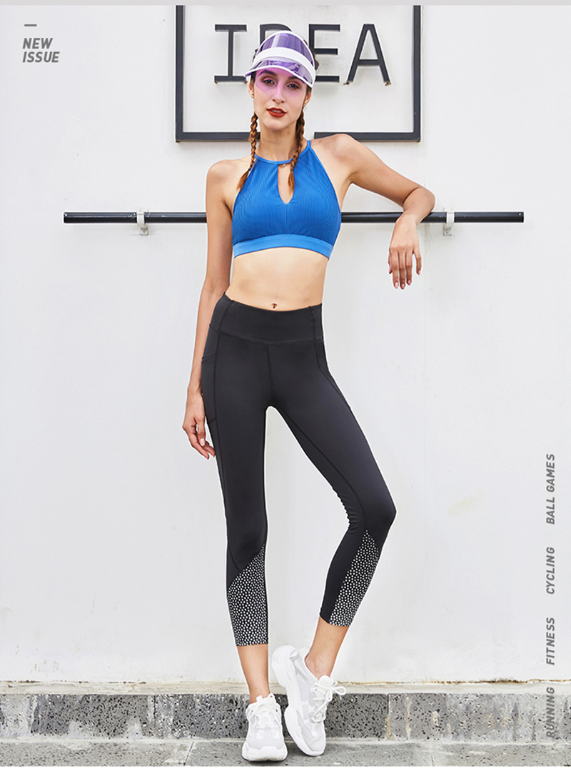 3c1057537c7b71 Vansydical Frauen Sexy Hohl Mesh Gym Jogger Yoga Bh Tops Sex Neck Sport  Bras Running Stoßfest Fitness Weste Unterwäsche