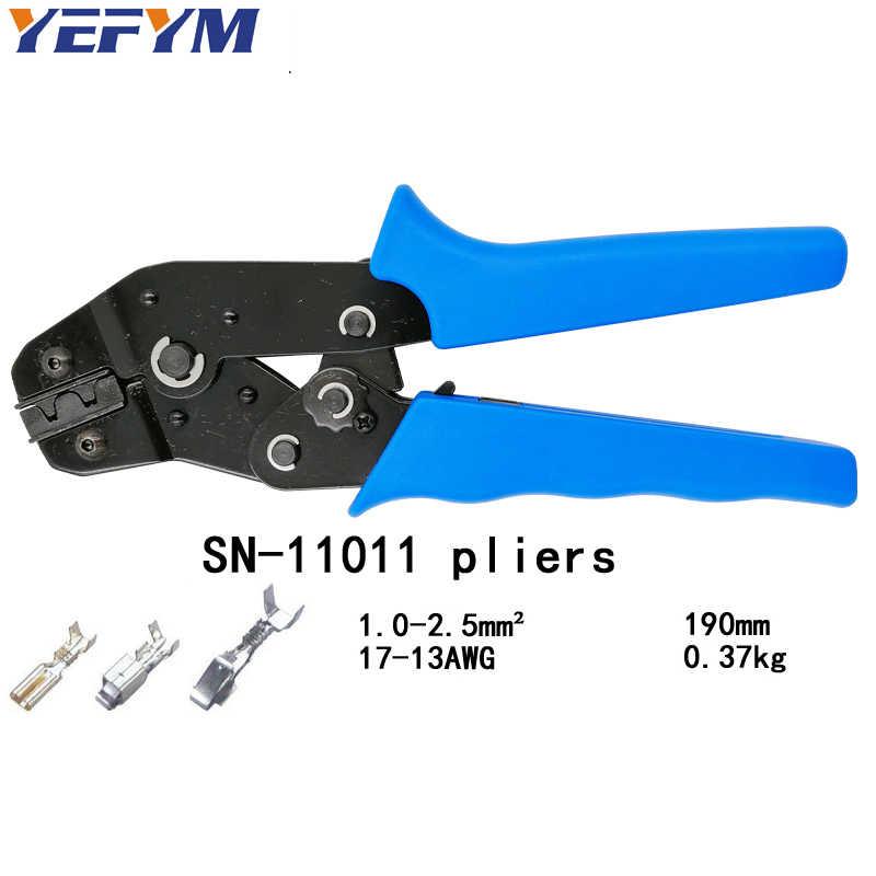 Обжимные клещи XH2.54 Пружинные 2,8 4,8 6,3 VH2.54 3,96 2510 клеммные SN-48B/28b/01BM/02BM/11011 Зажимные инструменты