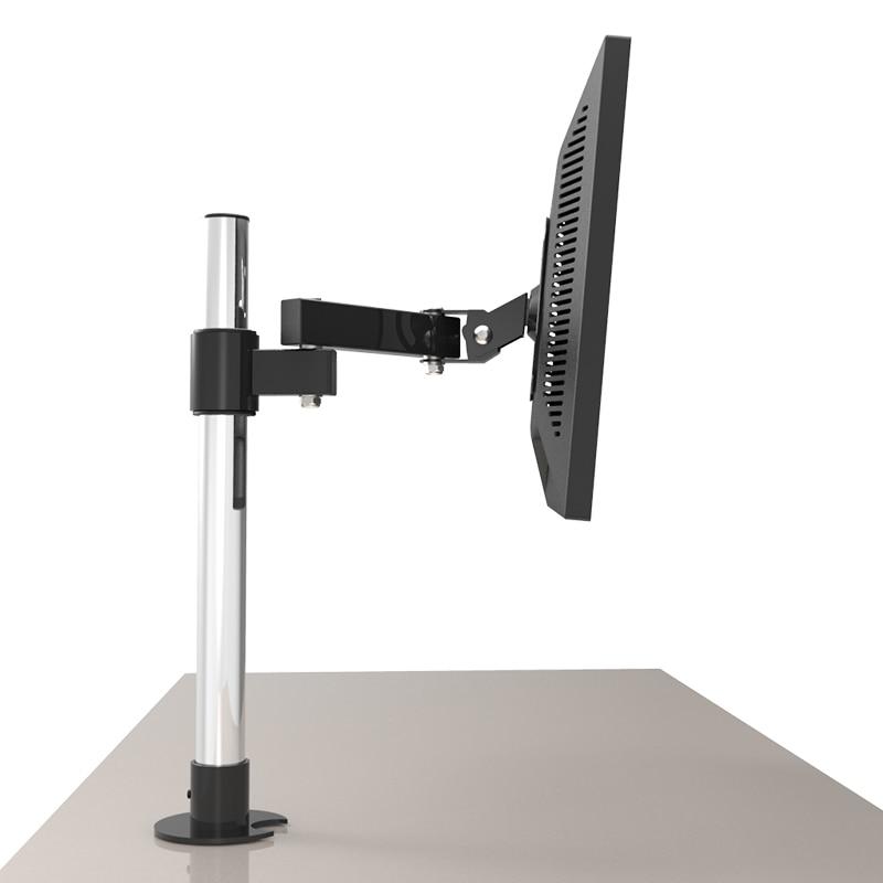 13 27 Quot Desktop Lcd Tv Mount Table Grommet Monitor Holder