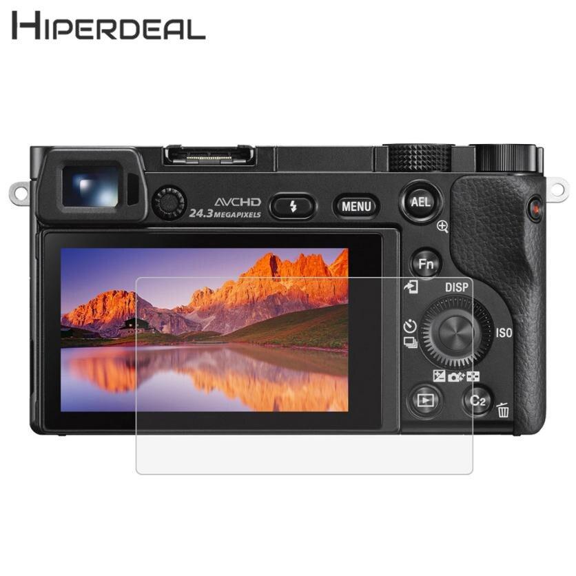 HIPERDEAL Film protecteur d'écran en verre trempé Ultra-clair anti-rayures 9H pour SONY A6000 A6300 A5000 caméra 18Feb05 livraison directe