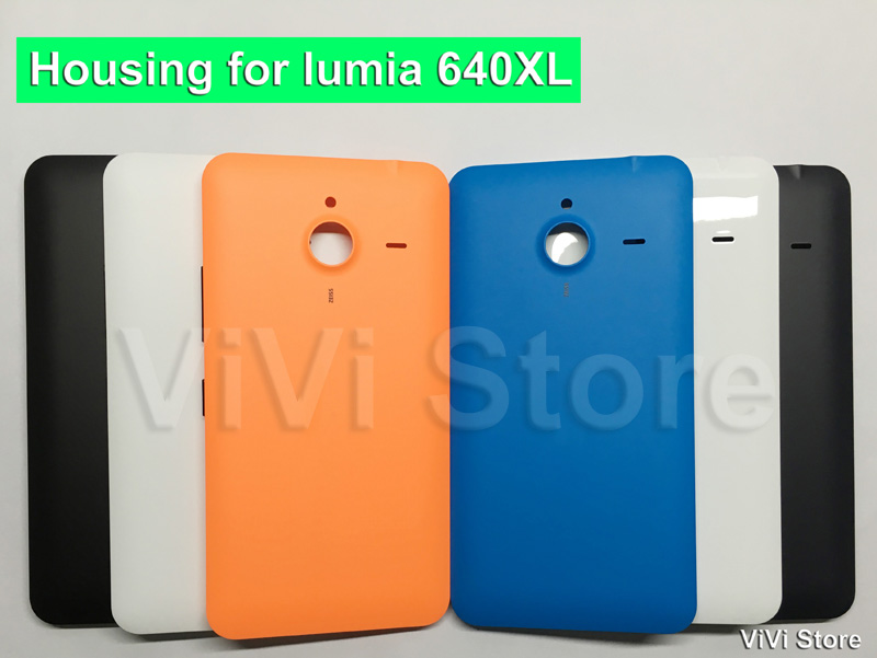 the latest 56be7 e3076 US $3.99 20% OFF|LESS BUT BUTTER Original Back Cover Battery Cover for  Microsoft Lumia 640xl Housing Repair part for lumia 640 xl-in Half-wrapped  Case ...