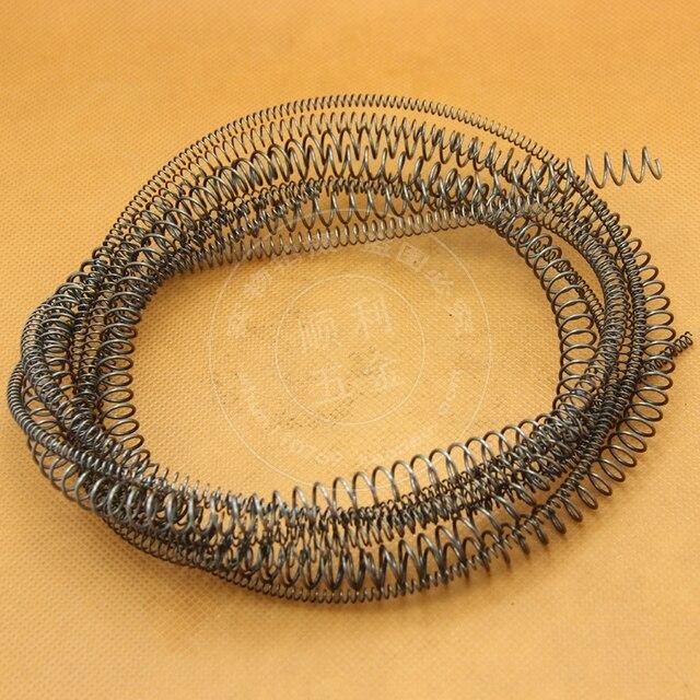 Benutzerdefinierte metall lange schraubendruckfeder, 0,6mm ...
