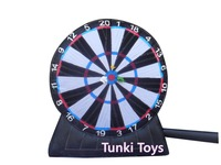 3m high inflatable soccer games inflatable football dart board for sale