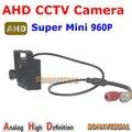 Nova chegada! Sistema de segurança em casa Super Mini câmera de 1.3 megapixels AHD Camera 10 pcs leds ir 960 P de alta definição Mini câmera de CCTV