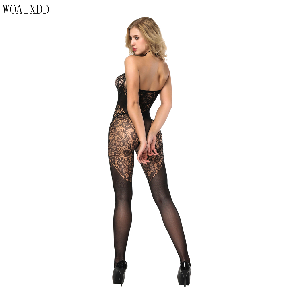 Female Black Lace Babydoll Dress <font><b>Adult</b></font> <font><b>Sex</b></font> <font><b>Clothes</b></font> Women Nightwear Lingerie Sexy Hot Erotic Costumes Underwear image