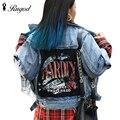 2017 Autumn New Women Denim Jacket Bf Harajuku Style Loose Plus Size Winter Jackets Female All-Match Vintage Women Basic Coat