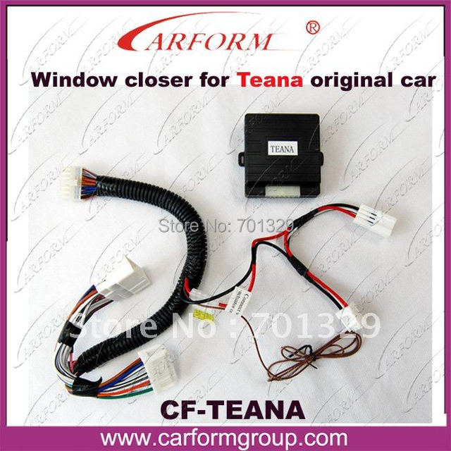 suitable For NISSAN Teana original cars/Upgrade car security system/Roll Up Closer Module /For Turkey market/Free shipping
