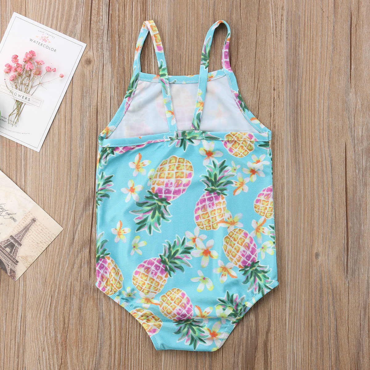 4e0f87031a ... Child Kids Baby Girls Pineapple BIkini Set Swimwear Swimsuit Bathing  Suit Beachwear Summer Casual Clothing Baby