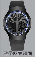 00Anime Touch Screen Bracelets LED To The Tree Of Life Ball Type Touch Screen Watch