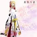 Accettare personalizzato Fate/Grand Ordine saber Cosplay Splendida vestito BJD 1/3 SD DD DDL/S Vestiti per le Bambole