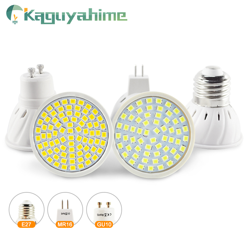 Kaguyahime Growth/Warm/Cold LED Spotlight E27 Gu10 Mr16 Grow Light LED Spot Lamp Bulb DC 12V AC 220V 3W 4W Lampada Full Spectrum