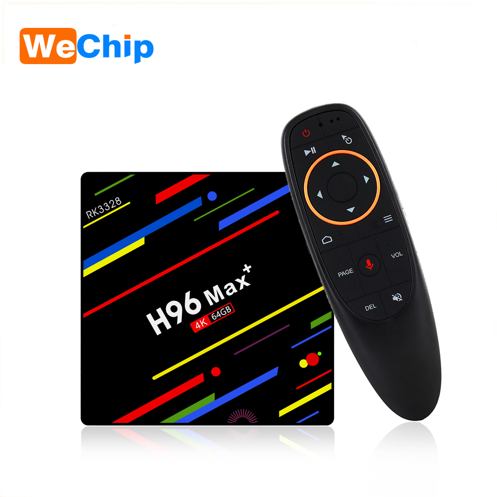 Android 8.1 TV Box With Google Voice Remote 4GB+32GB 4GB+64GB 2.4G Wifi Support Youtube Google IPTV Set-Top Box H96 MAX + 4k Box 4gb ram 32gb rom k10 plus android 7 1 rk3399 4k 60fps youtube google box cortex a53 mali 450 5g wifi android tv box support iptv