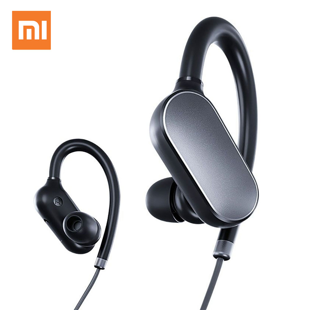 Xiaomi Mi Sports Bluetooth Earphone Headphone Wireless Music Earbuds Waterproof Sweatproof Headphones with Microphone Headset askmeer 8gb mp3 music player headsets wireless bluetooth sport earphone sweatproof earbuds headset with microphone handsfree