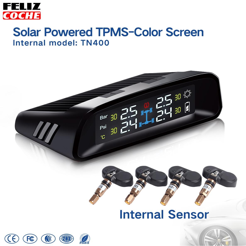 TN400 4 Wireless tire pressure monitoring tpms system monitor 4 built-in sensors For all car SUV A7025 gorenje wht 631 e2x