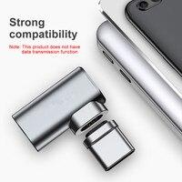 סוג מגנטי-c לסוג-c Baseus מחברת xiaomi מטען ממיר מתאם עבור apple macbook pro ראש 4.3 טעינה מהירה מקורי