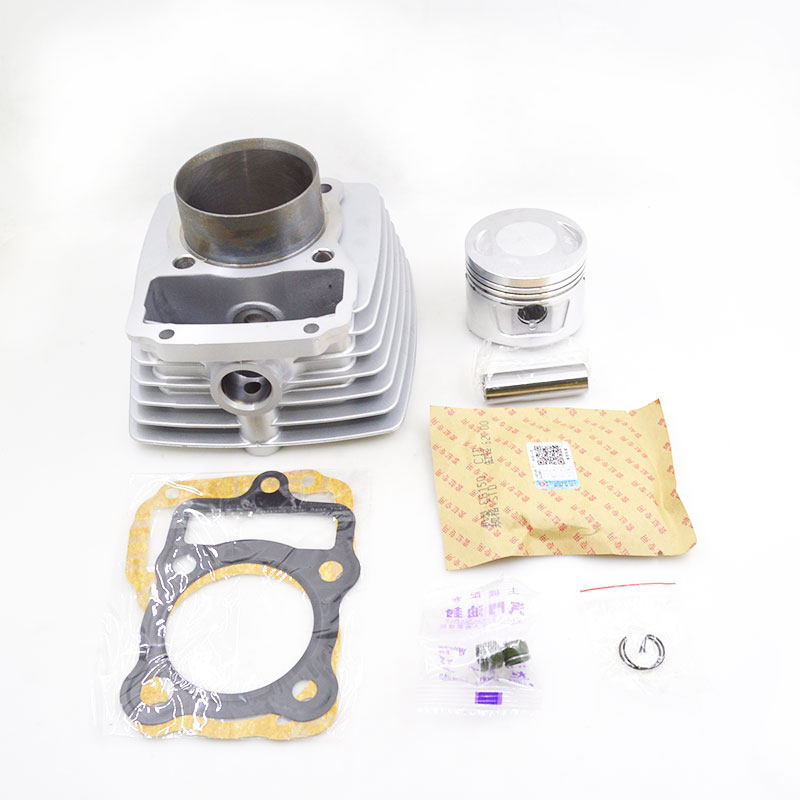 High Quality Motorcycle Cylinder Kit For Lifan CG175 CG 175 175cc Air-cooled LF162FMK Engine Spare Parts motorcycle accessories new right cylinder body motorcycle engine parts for lifan 140cc engine cylinder body engine parts gt 725