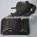 Oem estilo de fibra de carbono caja de aire fit para 2008-2012 mitsubishi lancer evo x evo 10