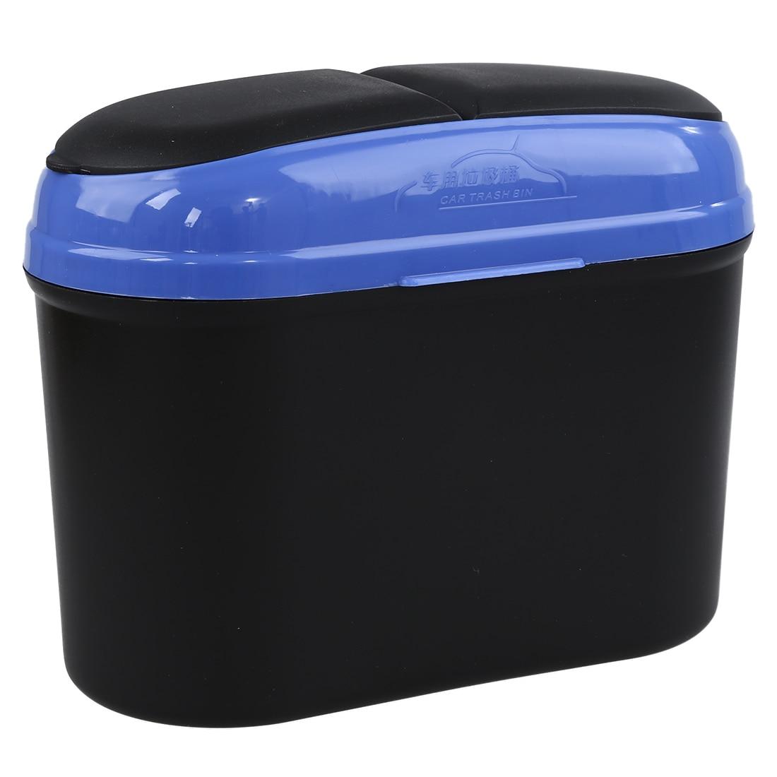 HOT GCZW-Car Auto Trash Garbage Dust Rubbish Bin Can Box Holder Hook Random Colors