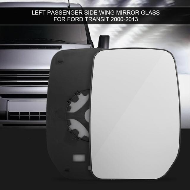 Car Left Passenger Side Doorwing Mirror Glass For Ford Transit 2000