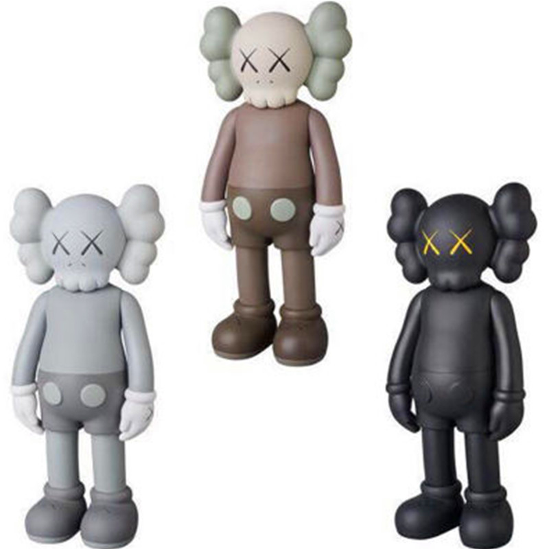 8 Inch KAWS Brian VOGUE OriginalFake Art Toys BFF Street Art PVC Action Figure Collectible Model Toy 7 Color Medicom Toy S156 28 70cm 1000% bearbrick be rbrick attack on titans action toy figure medicom toy art work great gift for friends