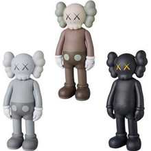 8 tum KAWS Brian VOGUE OriginalFake Art Leksaker BFF Street Art PVC Action Figur Collectible Model Toy 7 Färg Medicom Toy S156