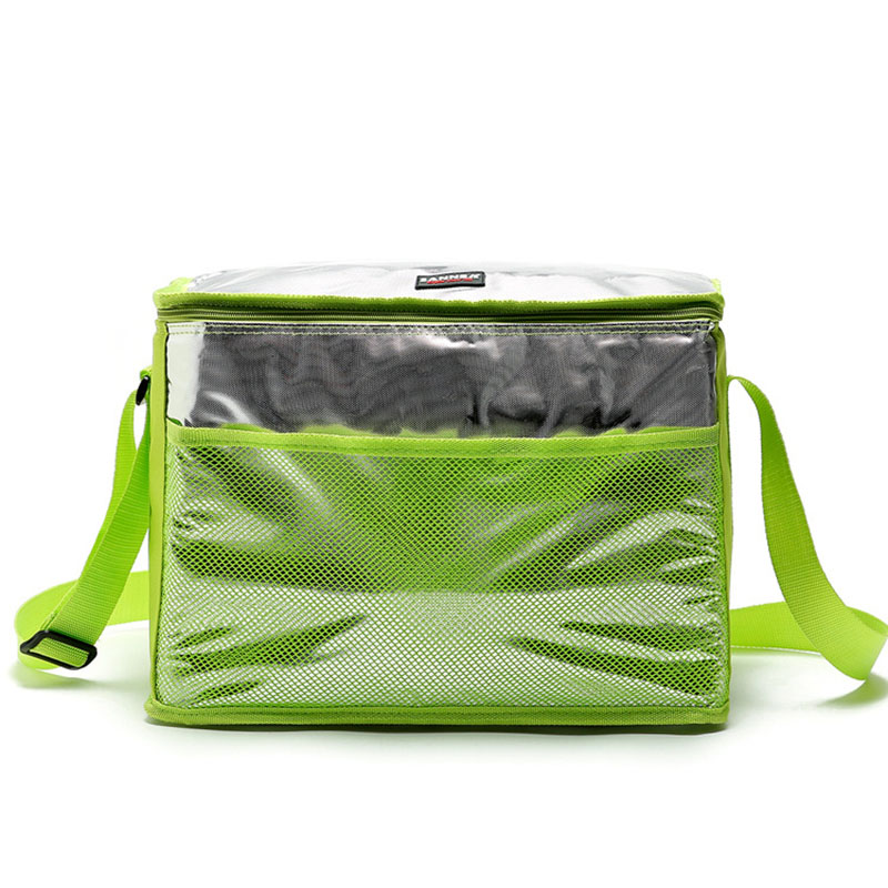 Fresh Keeping Insulated Picnic Cooler Bag New High quality brand thermal picnic lunch bag ice bag thermo lunchl Bags for Food large insulated lunch bags four sided hard board portable picnic box jacquard fresh cooler food bag multifunctional ice package