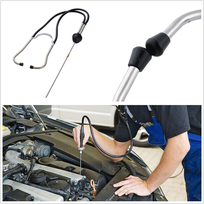 Car stethoscope Auto Mechanics Engine Cylinder Stethoscope Hearing Tool Cylinders Stethoscope Car Engine Tester Diagnostic Tool