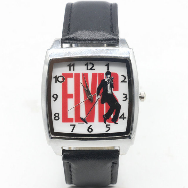 2018 new Cartoon Elvis Presley Watch Fashion Lovely Cute Kids Watches for Studen