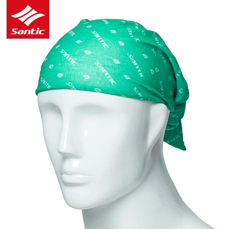 Santic Cycling Cap Men Women Cycling   Headwear   Scarf Multi-function Sports Bike Bicycle Bandana Hat Face Mask Head Band