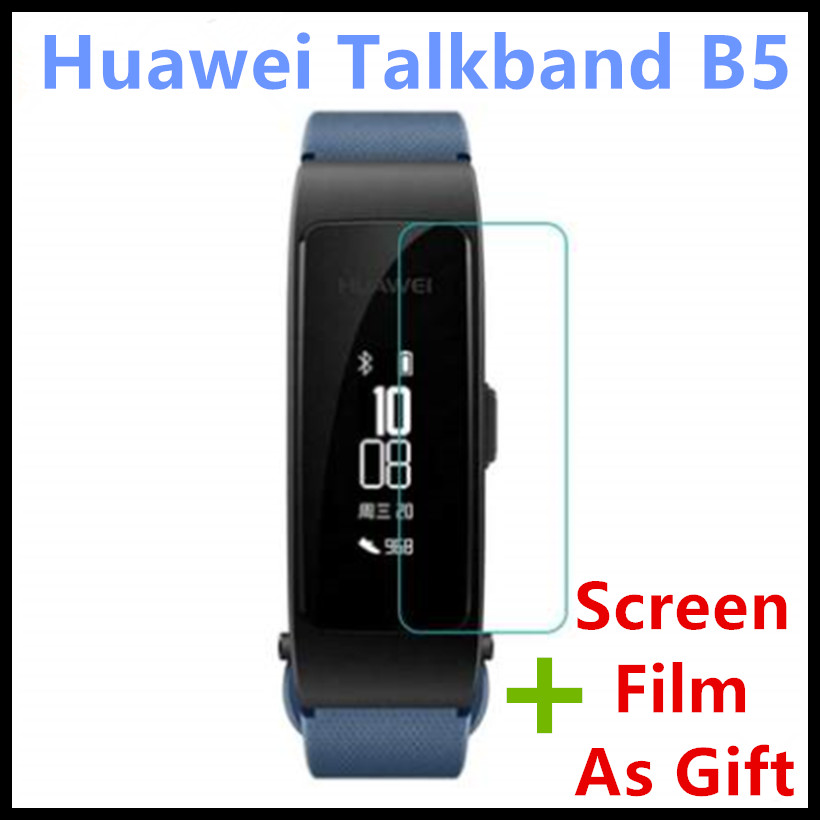 Original Huawei Talkband B5 Smart Wristband | Color Screen Health Bracelet Wrist Bluetooth Headset | Full Touch Scientific Sleep original huawei talkband b2 health smart bracelet band