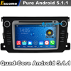 Quad Core 2 Din Android 5 1 Car DVD Automotivo For Benz Smart Fortwo 2012 2013